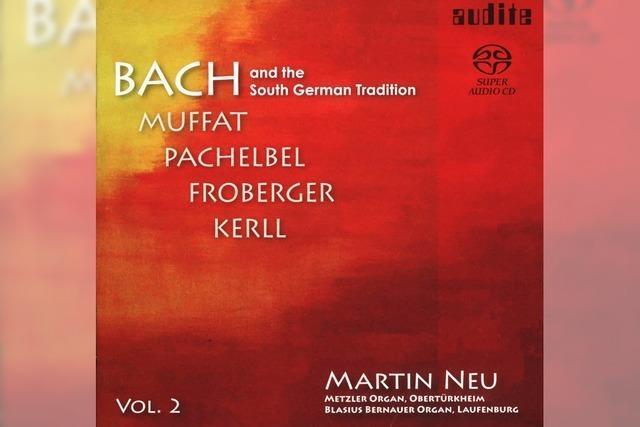 REGIO-CD: Bach, staubfrei