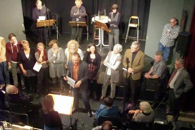 Eine Hörspielproduktion als Bühnenstück