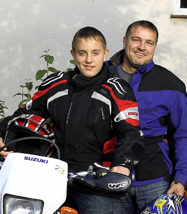 Nico und Jörg Wiedemann  | Foto: Dannecker