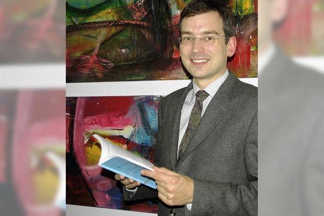 Die Nummer zwei im Landratsamt: Nikolas Stoermer