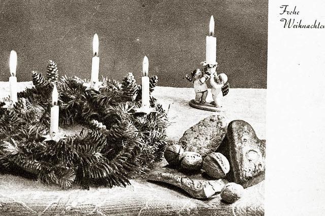 Die junge Tradition der Adventskränze