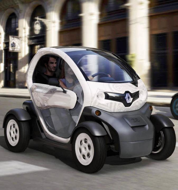 Stromer mit Nebenkosten: Beim Renault ...5 Euro Miete für die Akkus berechnet.   | Foto: Renault