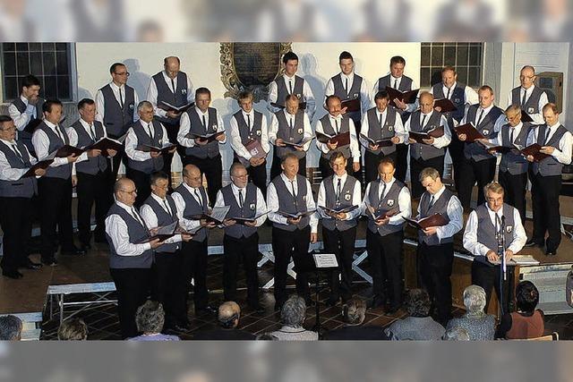 Eindrucksvolles Hörerlebnis in der Vogelbacher Kirche