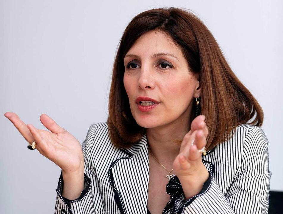 Integrationsministerin Bilkay Öney  | Foto: dpa