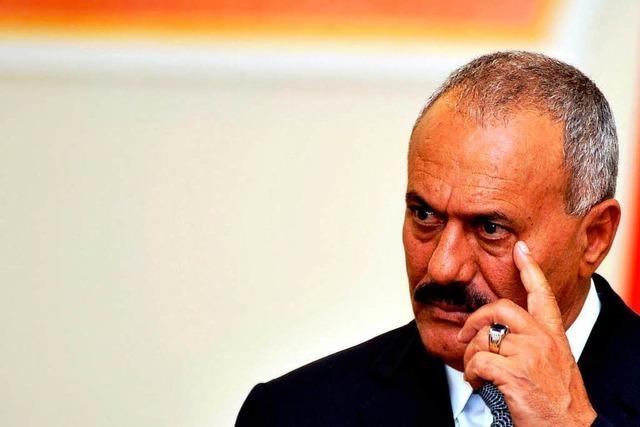 Jemen: Saleh geht, aber sein Clan bleibt
