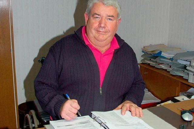 Rück- und Ausblick: Stadtkämmerer Konrad Schanno geht nach 44 Jahren in Ruhestand