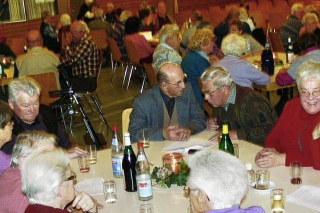 Unterhaltsamer Seniorentreff
