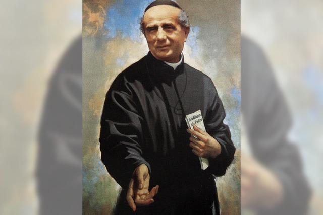 St. Trudpert freut sich über Heiligen
