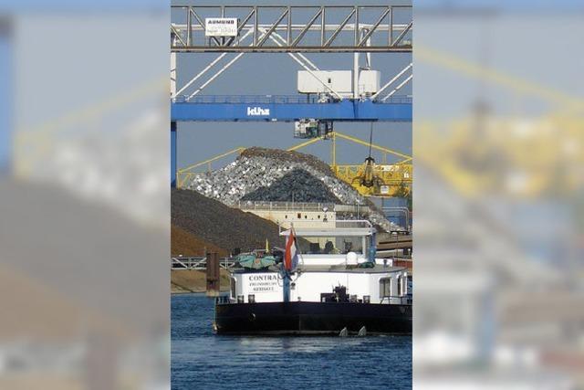 Wassernot macht Kehler Hafen zu schaffen