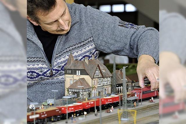 Eisenbahnfreunde zeigen ihre besten Modelle