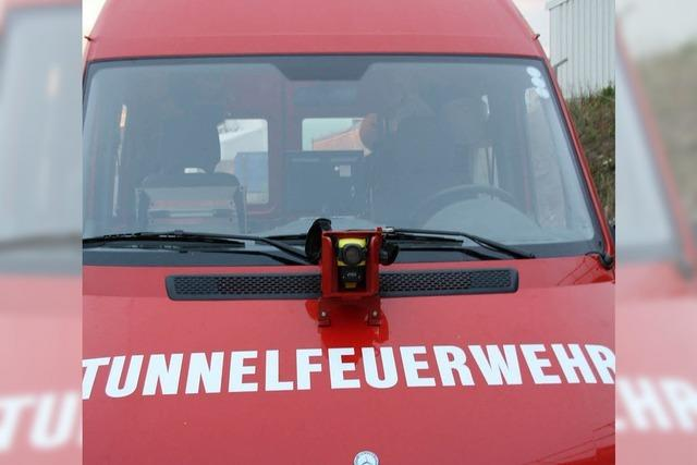 Tunnelfahrzeug Sache der Bahn