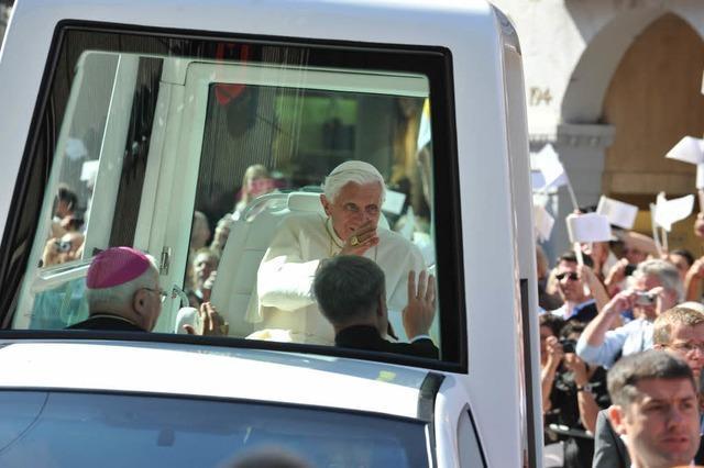 Der Papst – ein Verkehrssünder?
