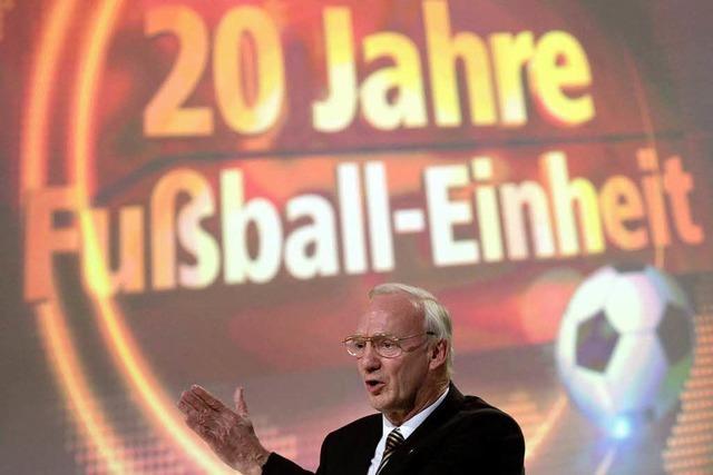 Hans-Georg Moldenhauer: Gesicht der Fußball-Einheit