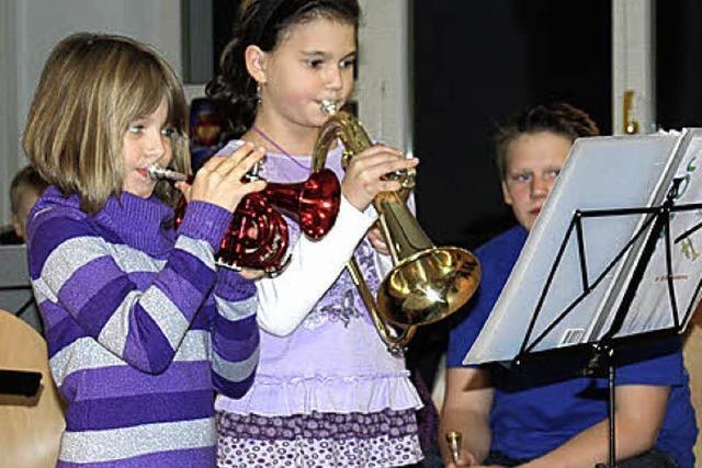 Musikernachwuchs zeigt beim Vorspiel, was er kann