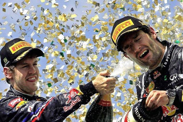 Ein kleiner Dämpfer zum Abschluss für Sebastian Vettel