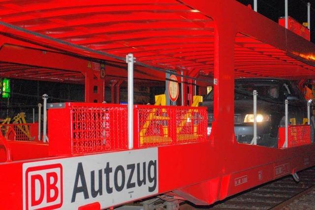 Raubzug bei voller Fahrt: Autozug zwischen Lörrach und Lahr ausgeraubt