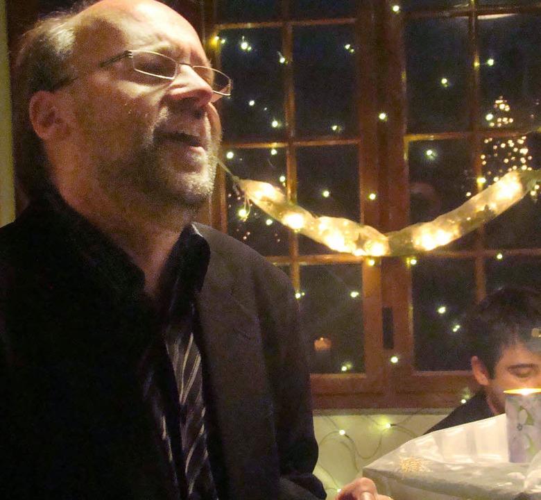 Ein inniger musikalischer Abend mit Eckhard Gab   | Foto: Ingrid Arndt
