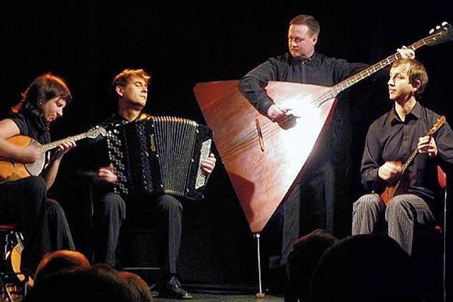 AB FREITAG: WELTMUSIK/GYPSY JAZZ: Balalaikas und Gitarren