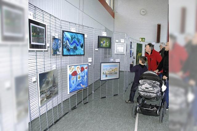 Kunstauktion bringt 3100 Euro