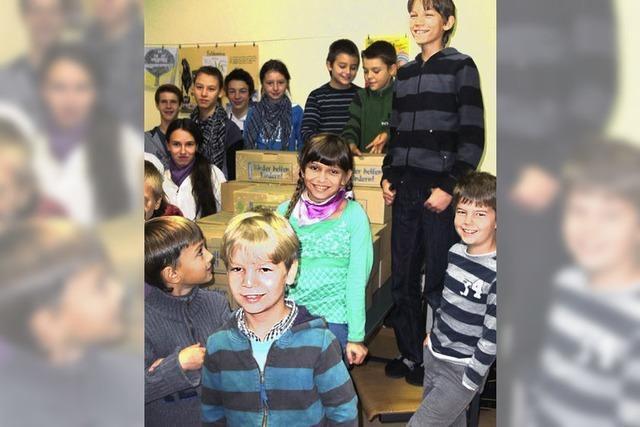 Geschenke für arme Kinder in Moldawien