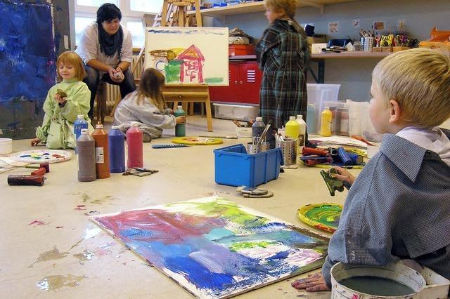 Kinder entdecken eigene Kreativität