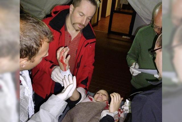 Umgang mit Verletzten