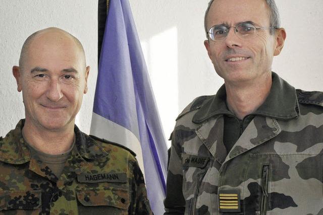 Deutsch-Französische Brigade: Brigadegeneral Hagemann und Colonel de Madre seit Juni im Amt