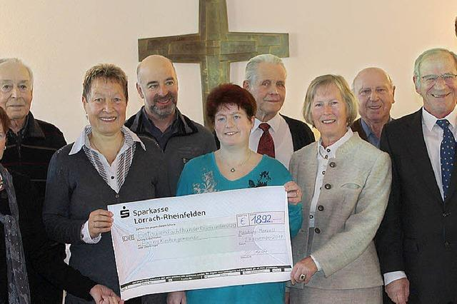 Spende für die Kirchenorgel