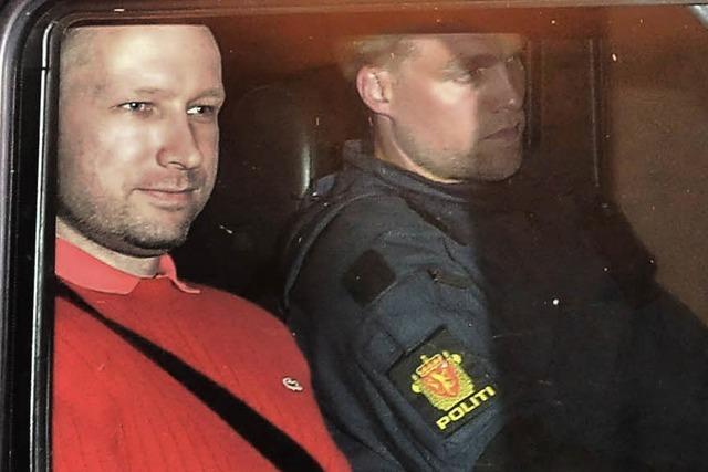 Massenmörder Anders Breivik ist nicht zurechnungsfähig