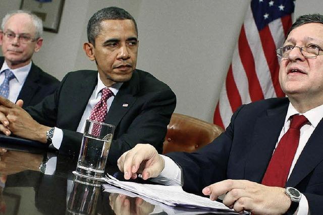 Obama erhöht Druck auf Europäer