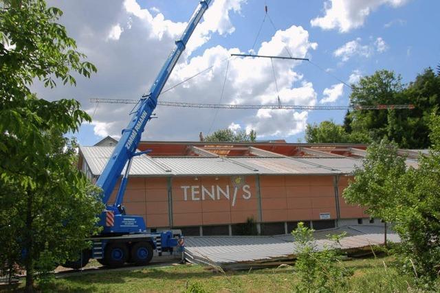 Nichts geht in der Tennishalle