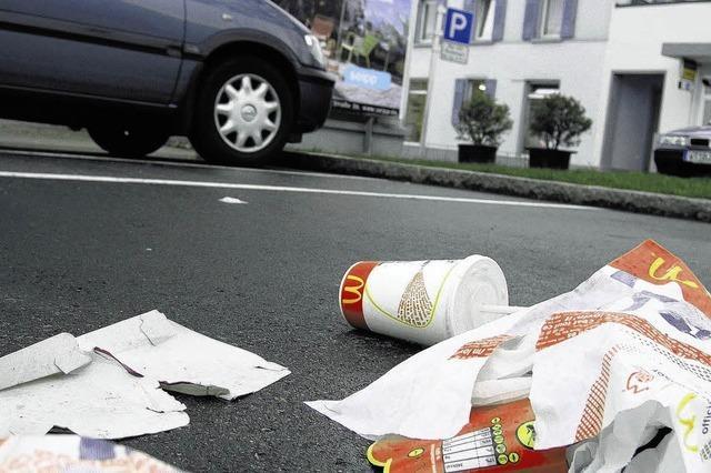 Gegen die Abfallplage