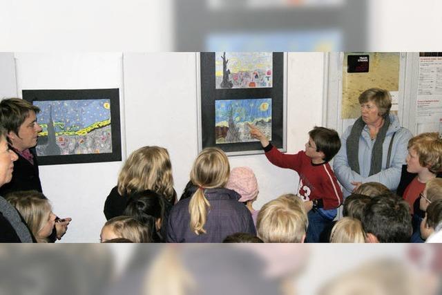 Monet und van Gogh halten Randalierer fern