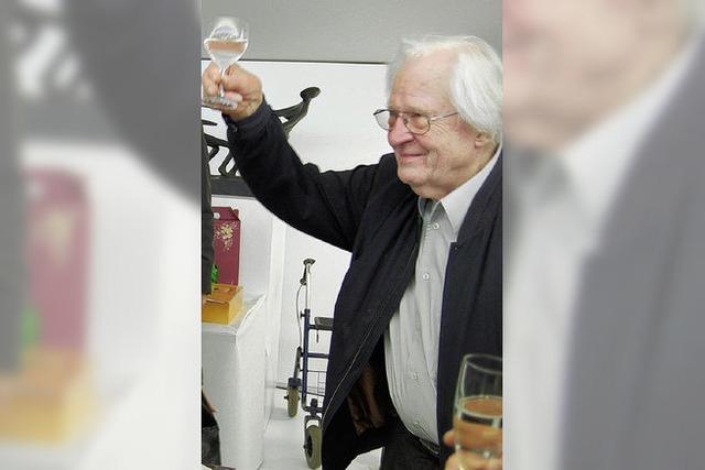 Schwarm an Freunden feiert Erwin Rehmann