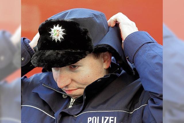 Polizei will andere Mützen