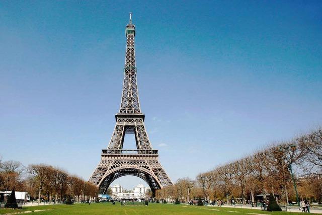 Der Eiffelturm erblüht