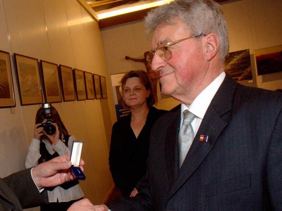 Hans-Erich Schött (Archivbild aus dem Jahr 2010).    Foto: Patrik Müller