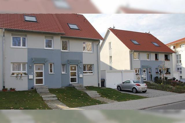 Aus Reihen- werden Doppelhäuser