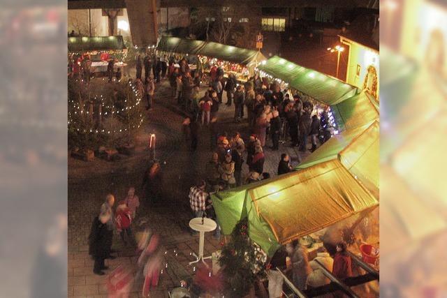 Markt auf dem Kirchplatz