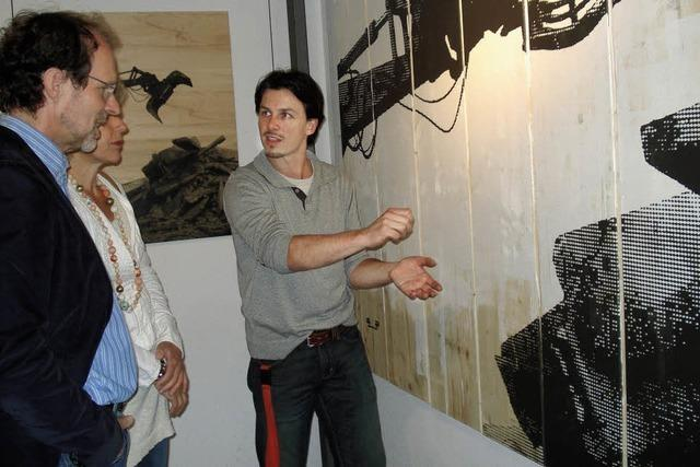 Künstler öffnen Ateliers
