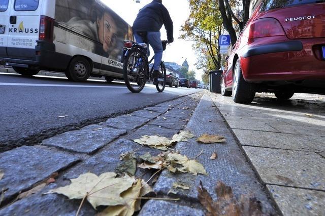 Sehbehinderte beklagten Mängel bei Sanierung der Habsburgerstraße