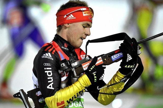 Simon Schempp überrascht in Östersund