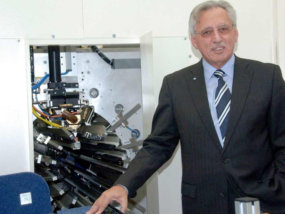 Anlässlich des 20-jährigen Betriebsbes...Kurzrohren: die neue Anlage Flexistar.  | Foto: MPS