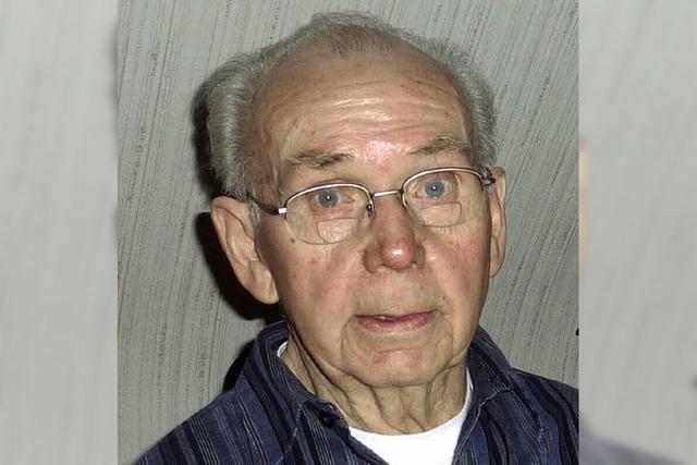 Gottfried Mench wurde 80 Jahre
