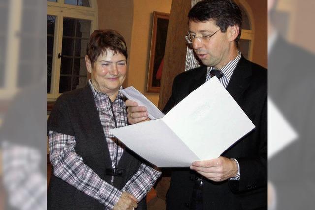 Hermine Wildt arbeitete 40 Jahre für die Stadt