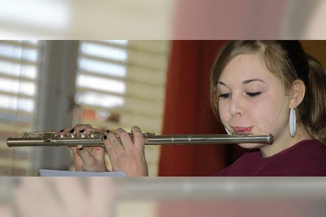 Leidenschaftliche Musikerin