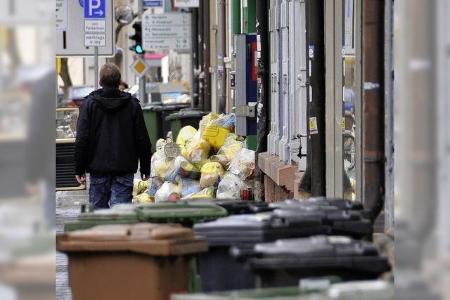 Müllgebühren (noch) stabil