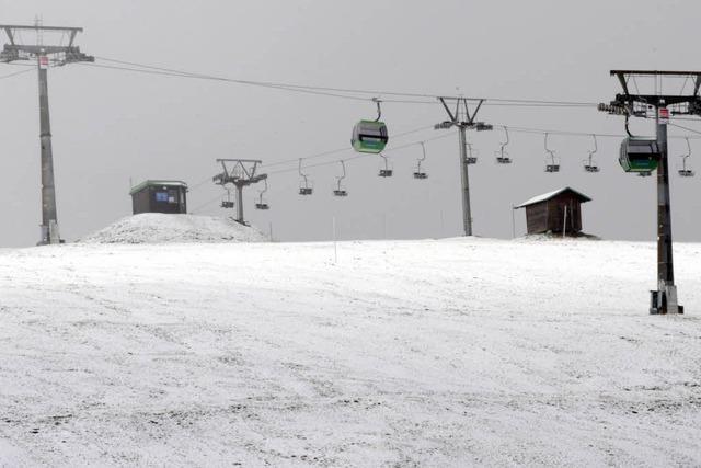 Orkanwarnung: Wintersaison-Eröffnung auf Feldberg abgesagt