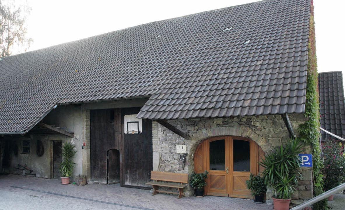 Das 1832 errichtete Ökonomiegebäude de...Gerhard Mangold an der Hexentalstraße.  | Foto: Silvia Faller