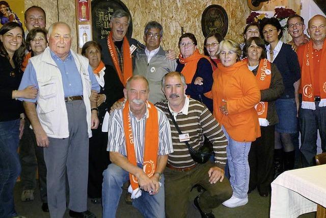 Kolpingfreunde aus Chile in Kollnau zu Besuch